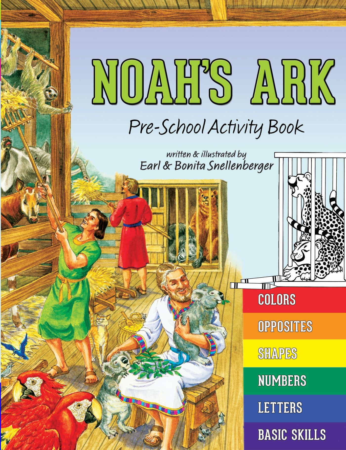 Noah's Ark: Pre-School Activity Book pdf