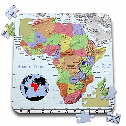 Topographic Map Games.Amazon Com Florene Modern Maps Image Of Topographic Map Of Africa