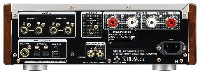 Marantz HD de Amp 1/N1B Premium Amplificador con Digital/Audio Corriente 2 x 70 W Negro: Marantz: Amazon.es: Electrónica
