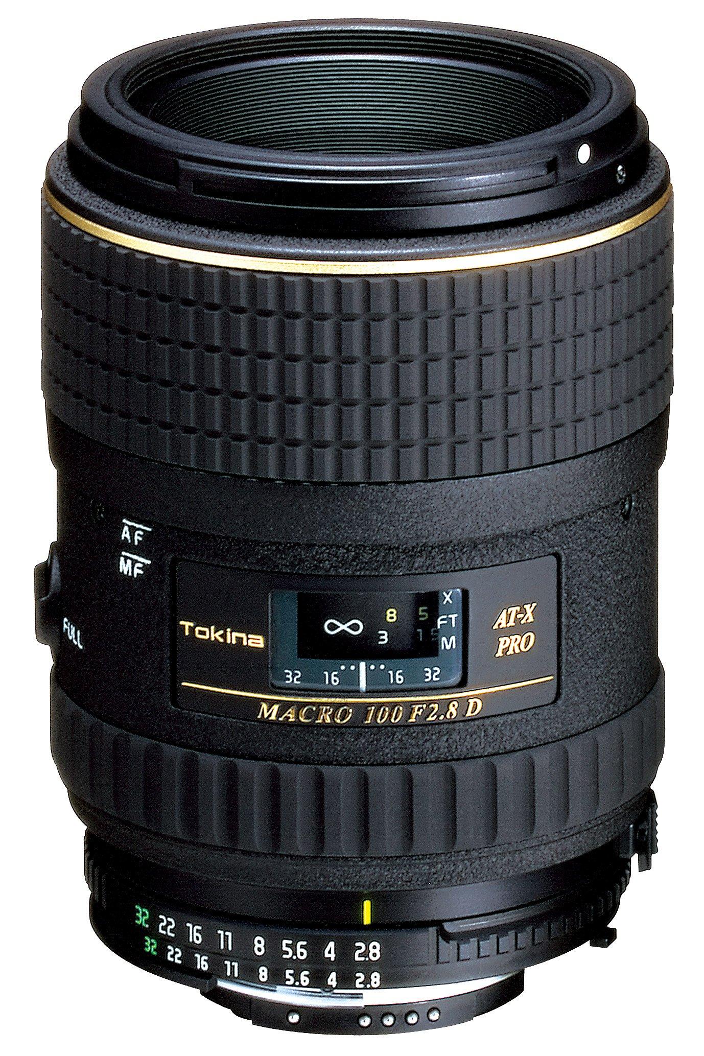 Tokina at-X PRO M 100mm F2.8 D Macro Lens - Nikon AF Mount