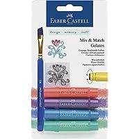 Faber-Castell Gelatos Mix en Match Crayon - Metallic Set van 4