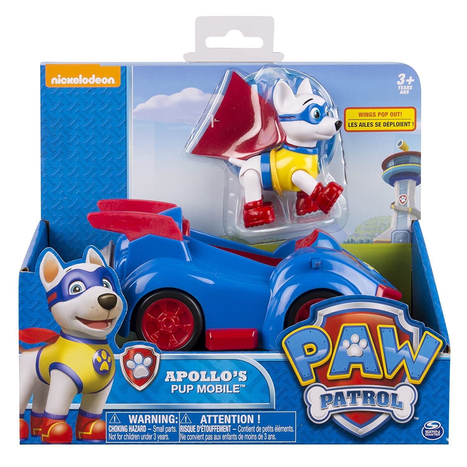 Good Paw Patrol   Apollou0027s Pup Mobile   Vehicle And Figure: Spin Master:  Amazon.co.uk: Toys U0026 Games