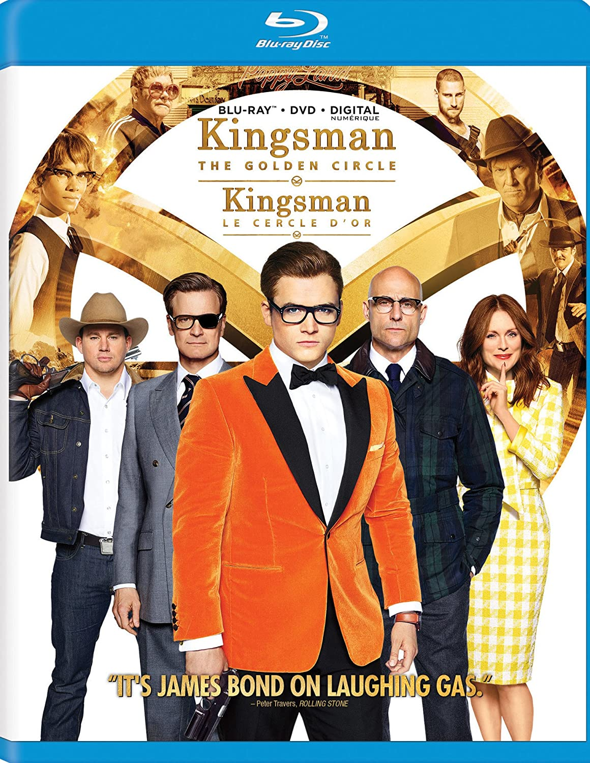 Kingsman 2: The Golden Circle (Bilingual) [Blu-ray + DVD +...
