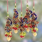 NOVICA Hand Multi-Color Mughal