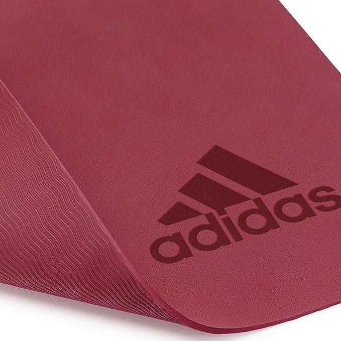 adidas Estera de Yoga Premium - Rubí, 5 mm: Amazon.es ...