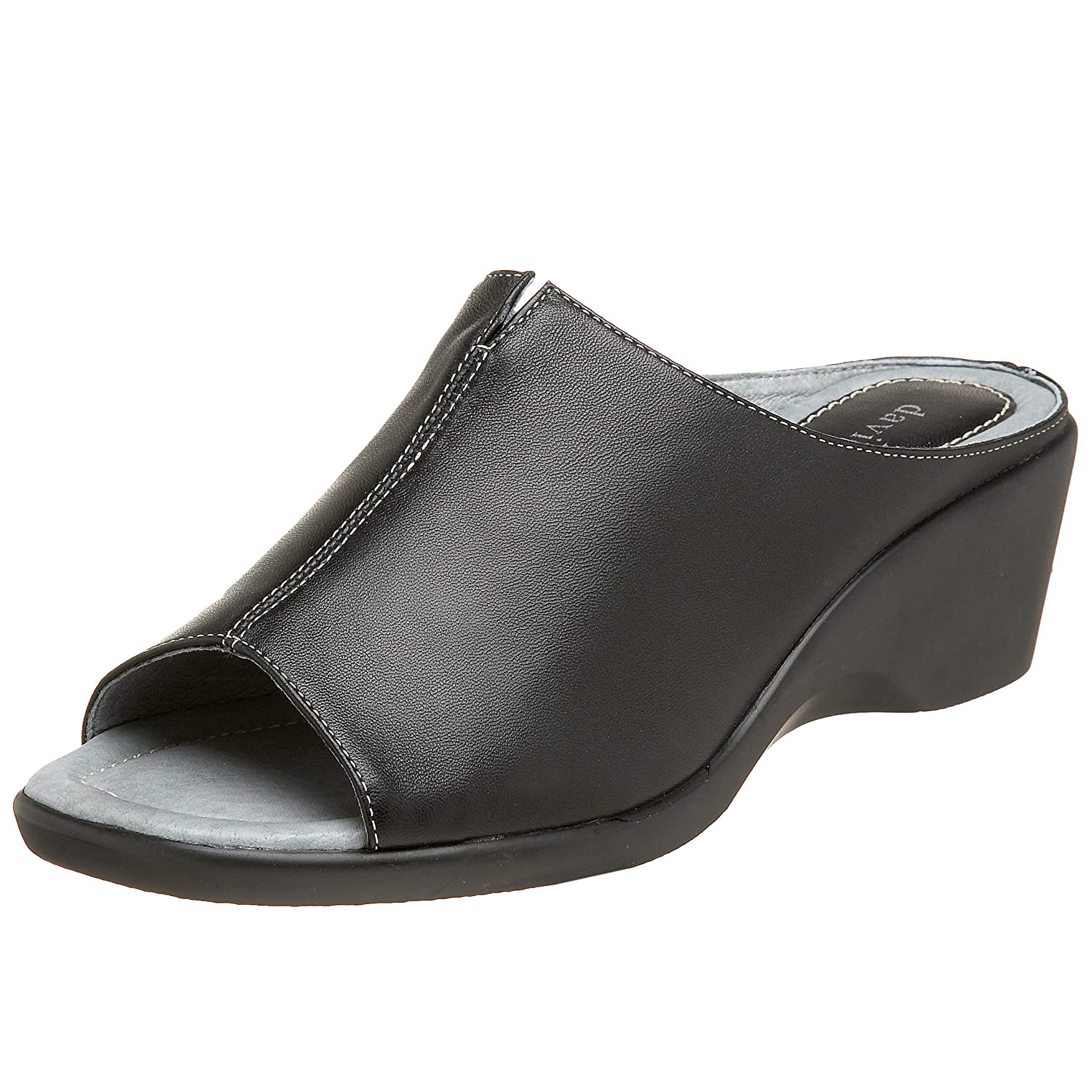 David Tate Women's Gloria Slide B001K7IYNC 6.5 W US|Black