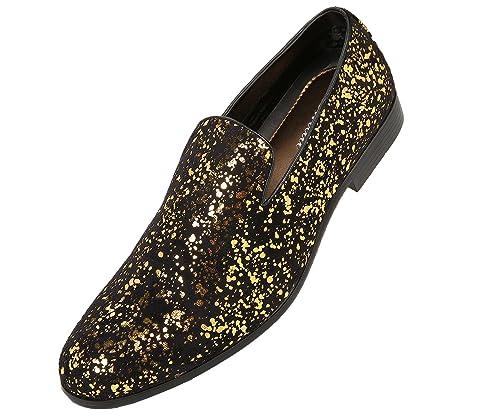 Amazon.com: Amali Morris, Zapatillas de hombre - Zapatos de ...