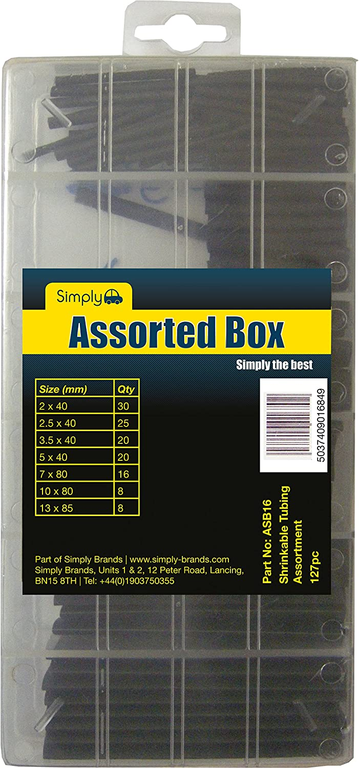 Simply ASB16 Shrinkable Tubing Assortment