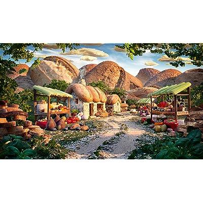 Little Mountain Village: Schmidt Carl Warner Foodscapes Jigsaw Puzzle 1000 pieces 59375