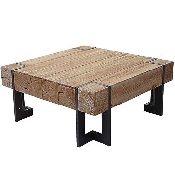 Mendler Couchtisch Hwc A15 Wohnzimmertisch Tanne Holz Rustikal