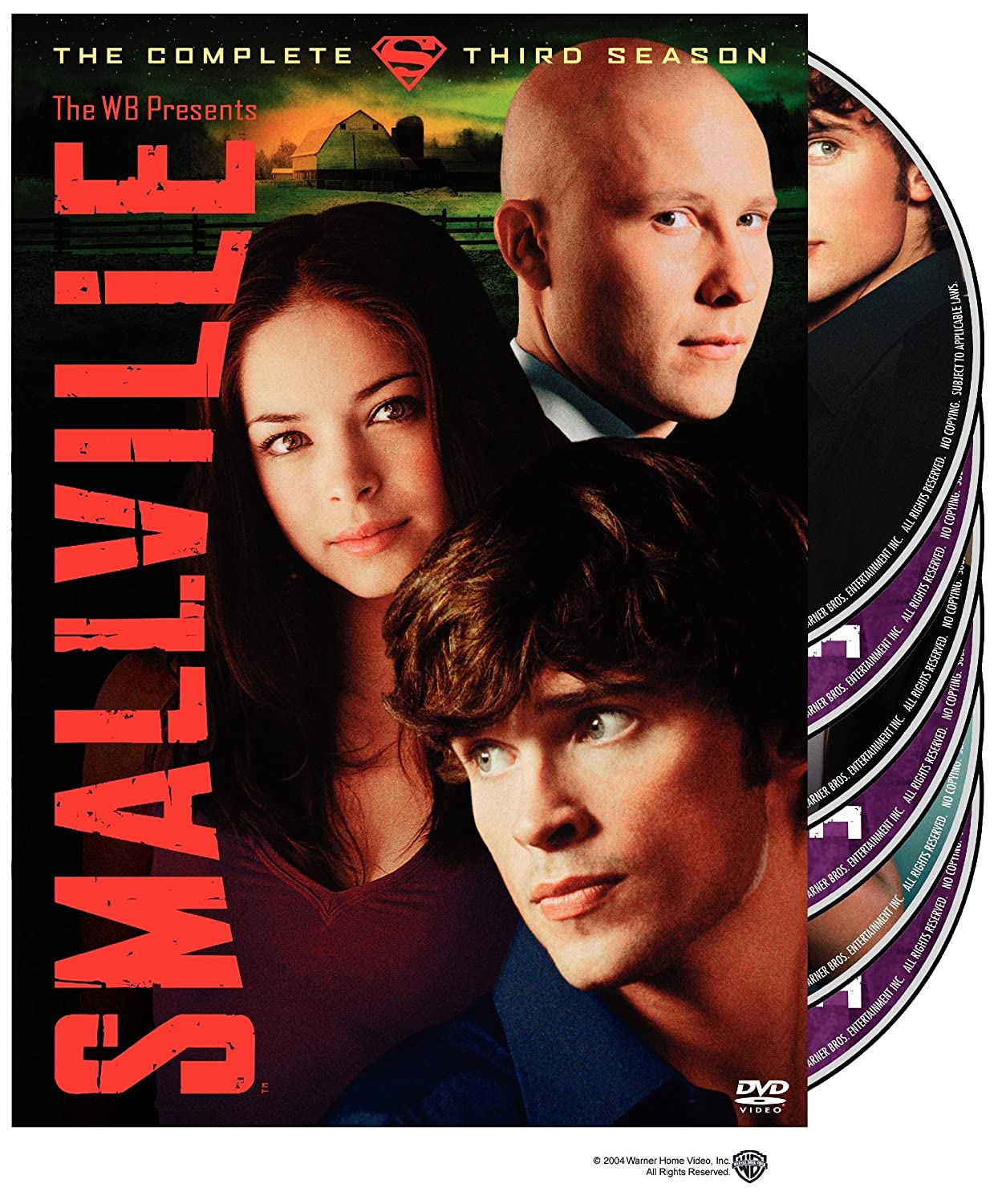 Amazoncom Smallville Season 3 Tom Welling Kristin Kreuk