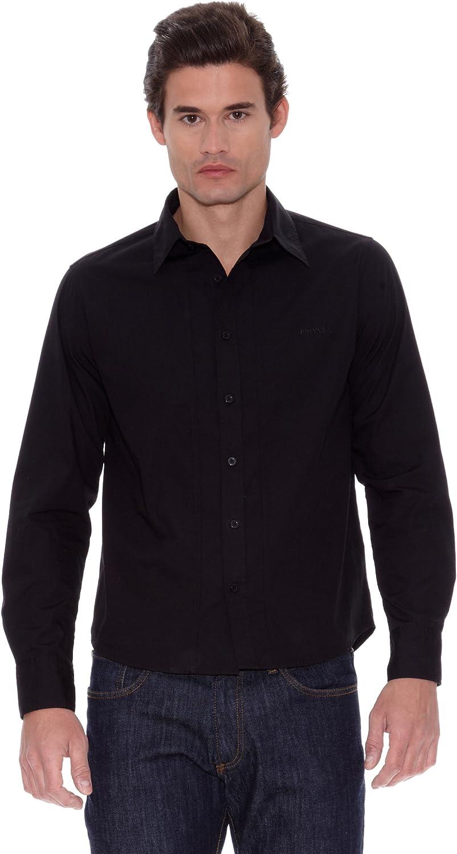 Privata Camisa Samuel Negro M: Amazon.es: Ropa y accesorios