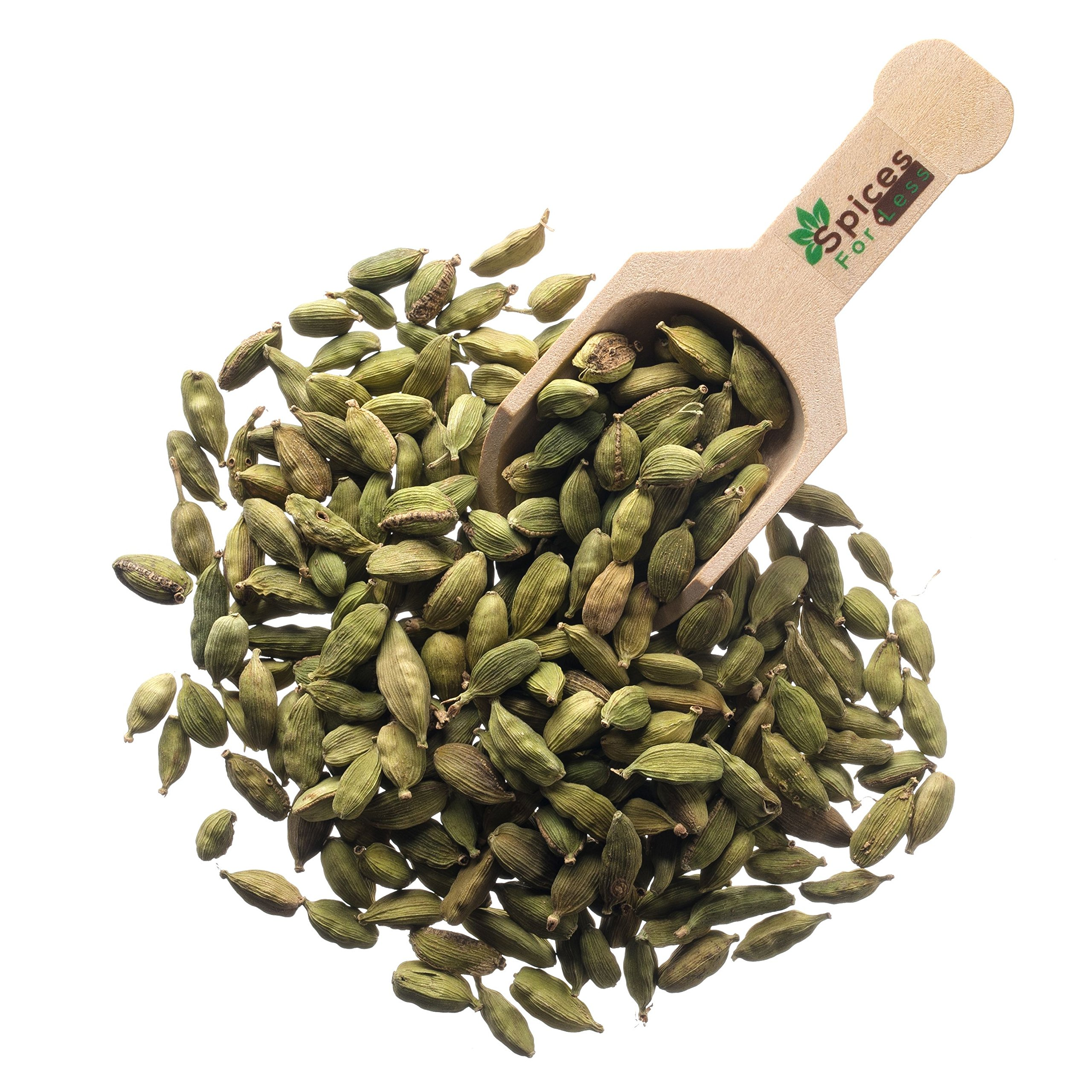 Cardamom, Whole Green Pods (8 oz) by Spices For Less (Image #1)