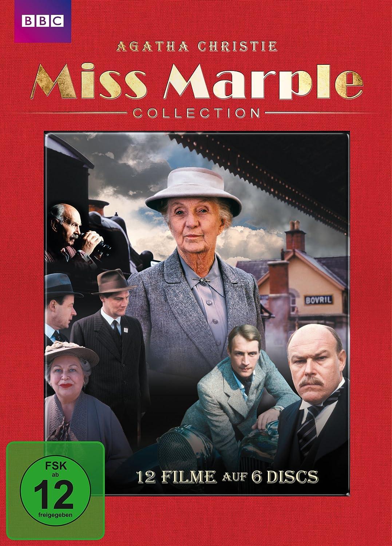 Agatha Christie Miss Marple Collection 6 Dvds Amazonde