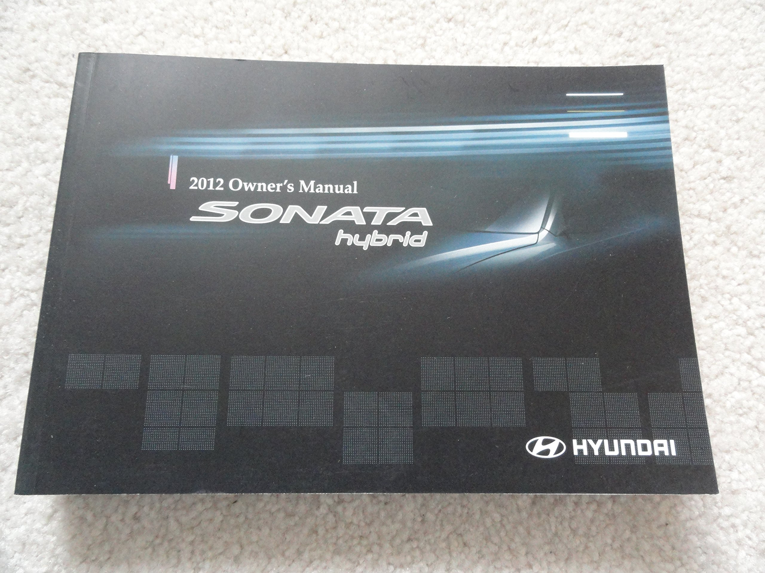 2012 hyundai sonata owners manual hyundai amazon com books rh amazon com