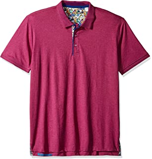 4f4015cb Amazon.com: Robert Graham Clock Tower Short Sleeve Knit Polo: Clothing