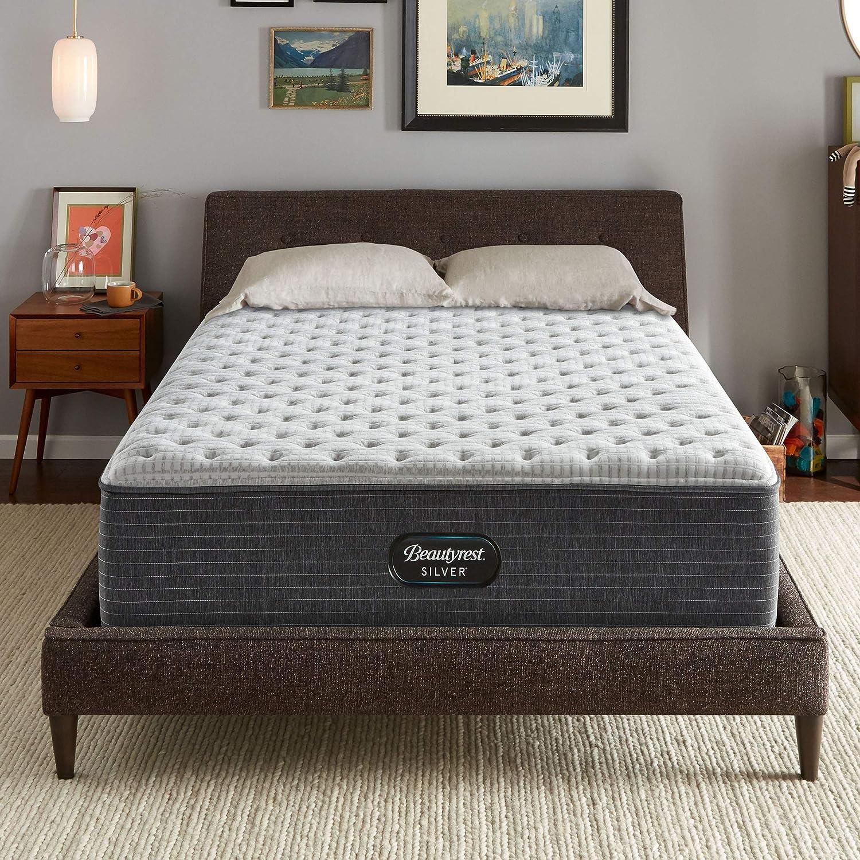Beautyrest Silver BRS900-C 14 inch Extra Firm Innerspring Mattress, Full, Mattress Only