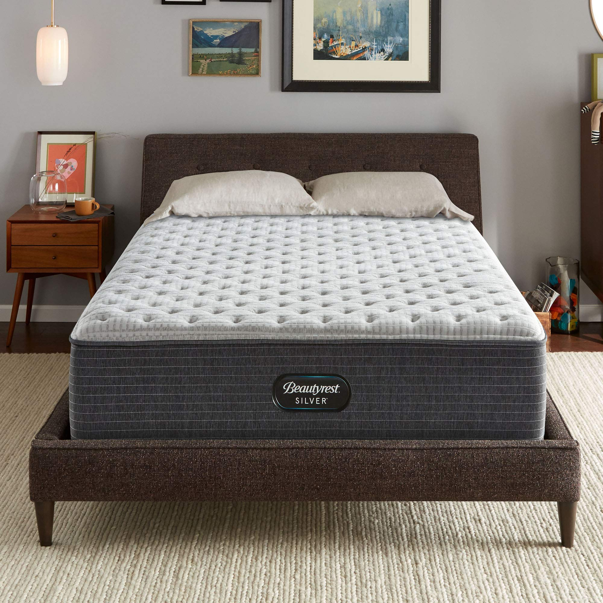 Beautyrest Silver BRS900-C 14 inch Extra Firm Innerspring Mattress, Queen, Mattress Only by Beautyrest