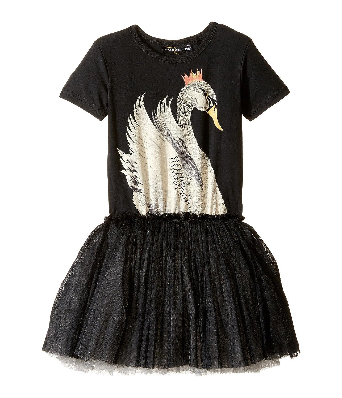 [ロックユアベイビー] Rock Your Baby レディース Swan Lake Circus Dress (Toddler/Little Kids/Big Kids) ドレス [並行輸入品] 2 Years (Toddler) Black B06XJ22531