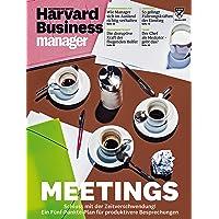 Harvard Business Manager 10/2017: Meetings