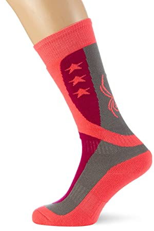 Calcetines de esquí para niños GBG Spyder Europe Flag, otoño/Invierno, Infantil, Color, tamaño L: Amazon.es: Deportes y aire libre