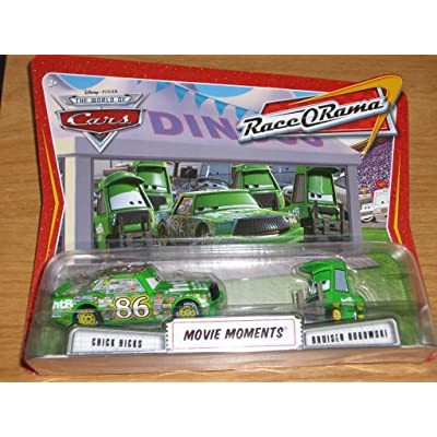 Disney / Pixar CARS Movie Moments 1:55 Die Cast Figure 2-Pack Series 4 Race-O-Rama Chick Hicks and Bruiser Bukowski: Toys & Games