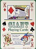 Tobar Riesen-Kartenspiel - Spielkarten Extra Groß - als Geschenk oder zum Zaubern oder als Spaß