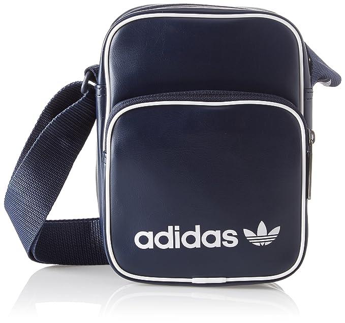 adidas Mini Bag Vint, Bolso bandolera Unisex Adulto, Azul (Maruni) 24x15x45 cm