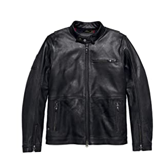 Amazoncom Harley Davidson Official Mens Command Leather Jacket