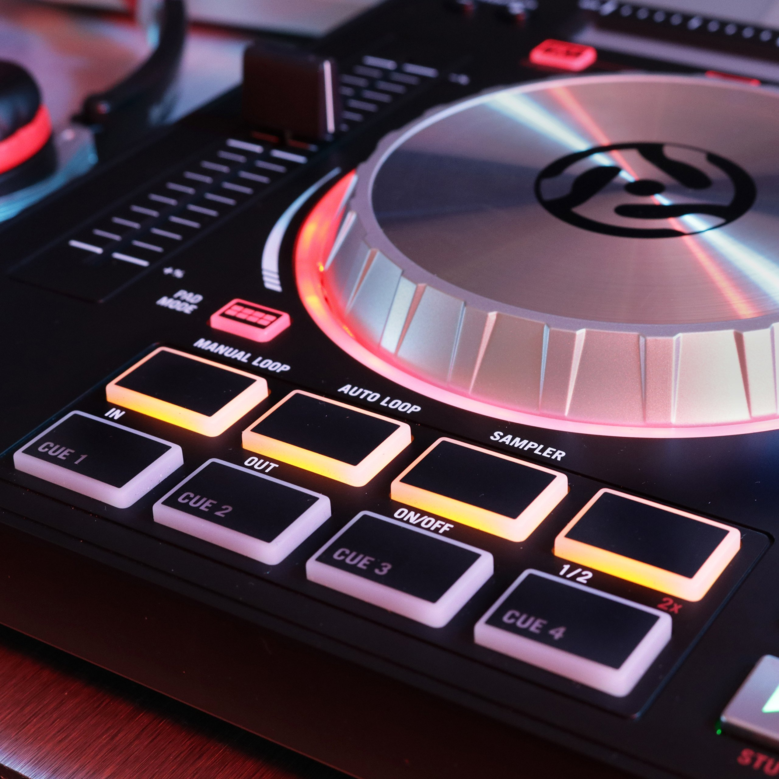Numark Mixtrack Pro 3 | USB DJ Controller with Trigger Pads & Serato DJ Intro Download (Includes Built-In Sound Card) by Numark (Image #6)