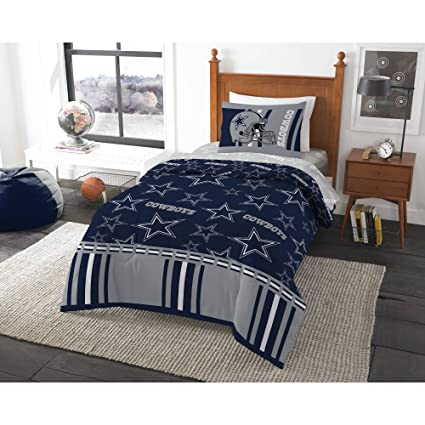 The Northwest Company Officially Licensed NFL Dallas Cowboys Soft U0026 Cozy  5 Piece Twin Size