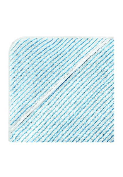 Bellybutton 10872-90624 - Toalla con capucha para bebé, diseño de rayas, color