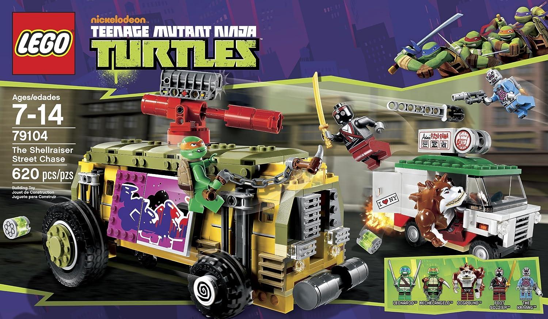 LEGO 79104 Mutant Ninja Turtles La Shellraiser Calle Caza ...