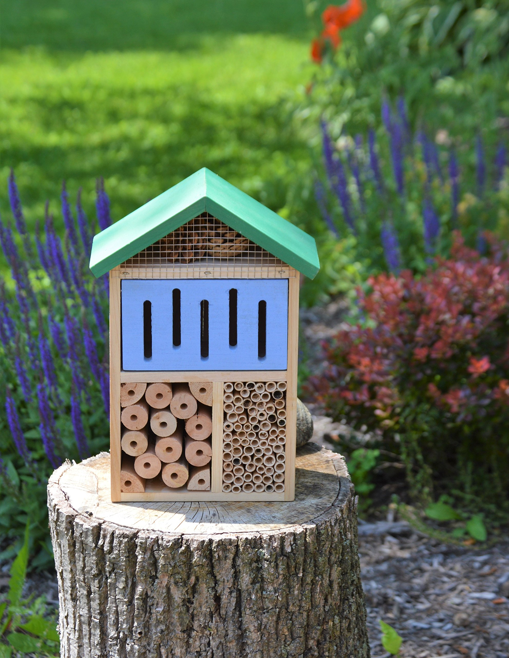Nature's Way Bird Products CWH7 Better Gardens Beneficial Insect House, 4 Chamber by Nature's Way Bird Products (Image #2)