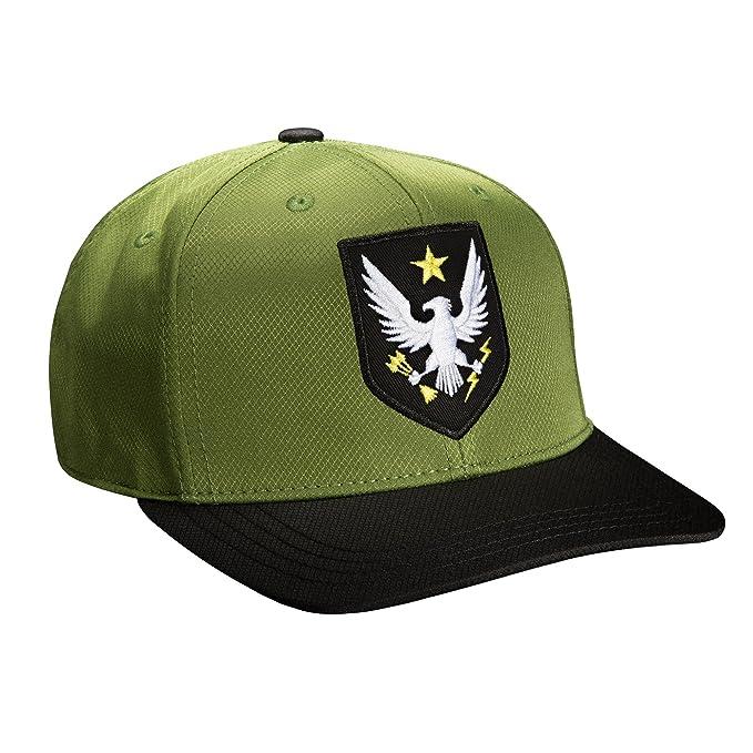 Amazon.com  JINX Halo Command Snapback Baseball Hat (Green 3e34325a42f4