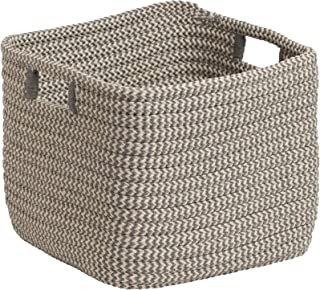 """product image for Colonial Mills Carter Basket, 12""""x12""""x10"""", Grey"""