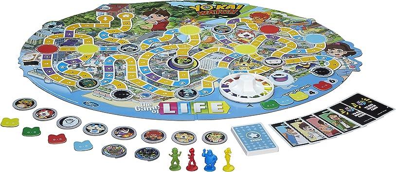 Hasbro El Juego de Vida yo-Kai Reloj Edition Juguete: Amazon.es: Juguetes y juegos