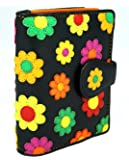 "Visconti Bifold Cuir Femme Portefeuille ""Daisy"",Floral Multicolor Purse(DS80):"