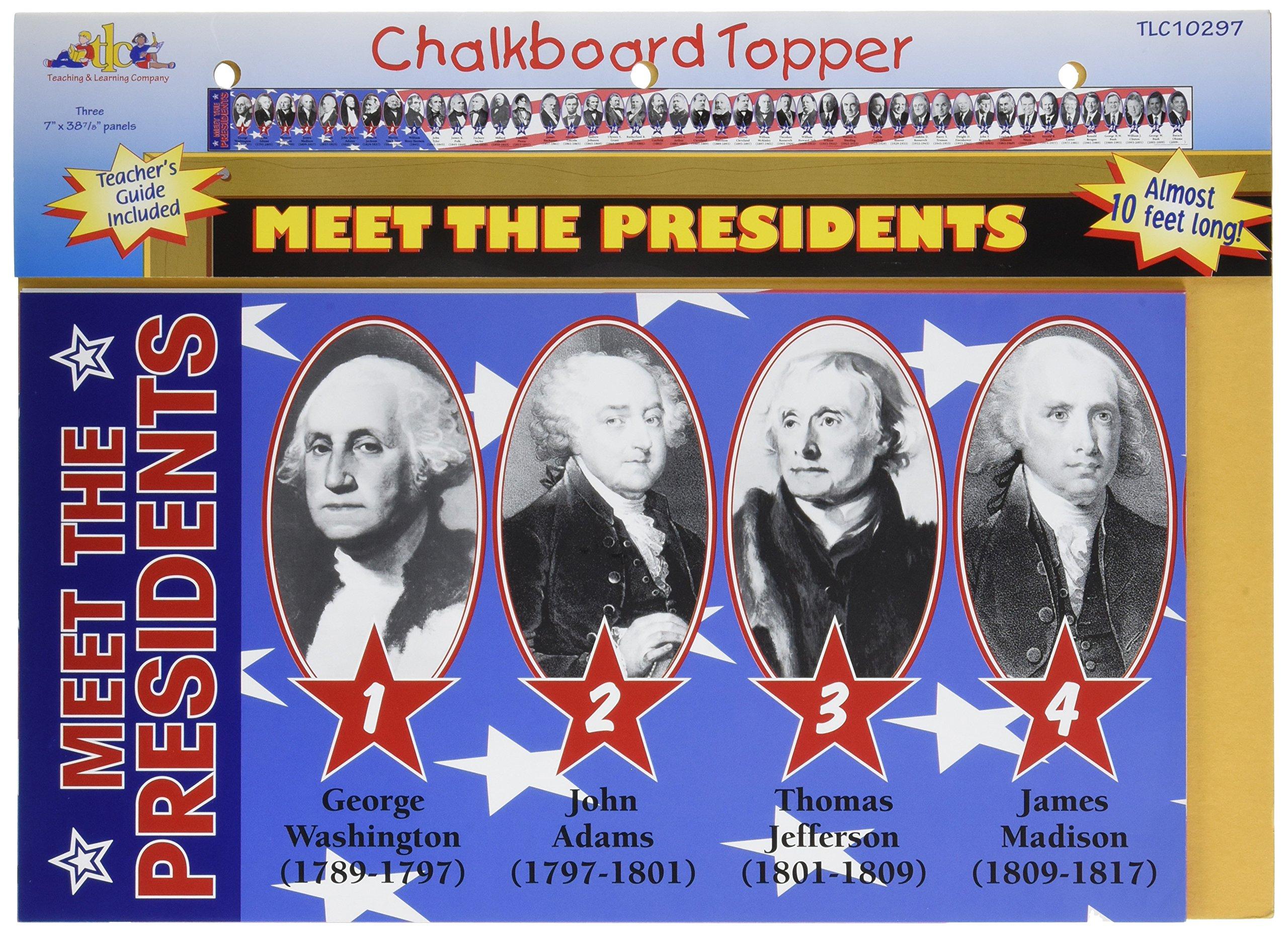Download Meet the Presidents Chalkboard Topper ebook