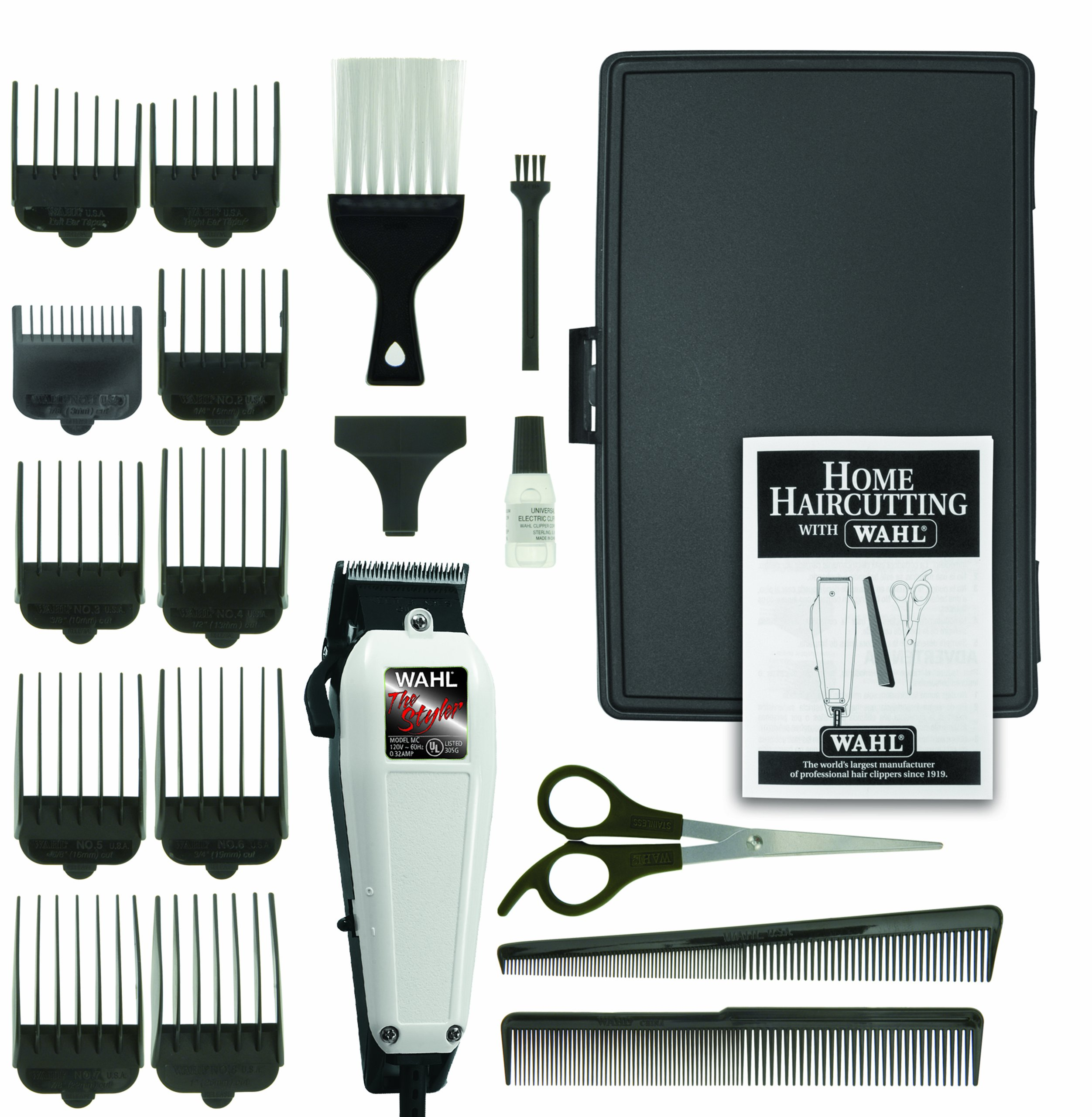 Wahl The Styler Haircut Kit, 19 Piece