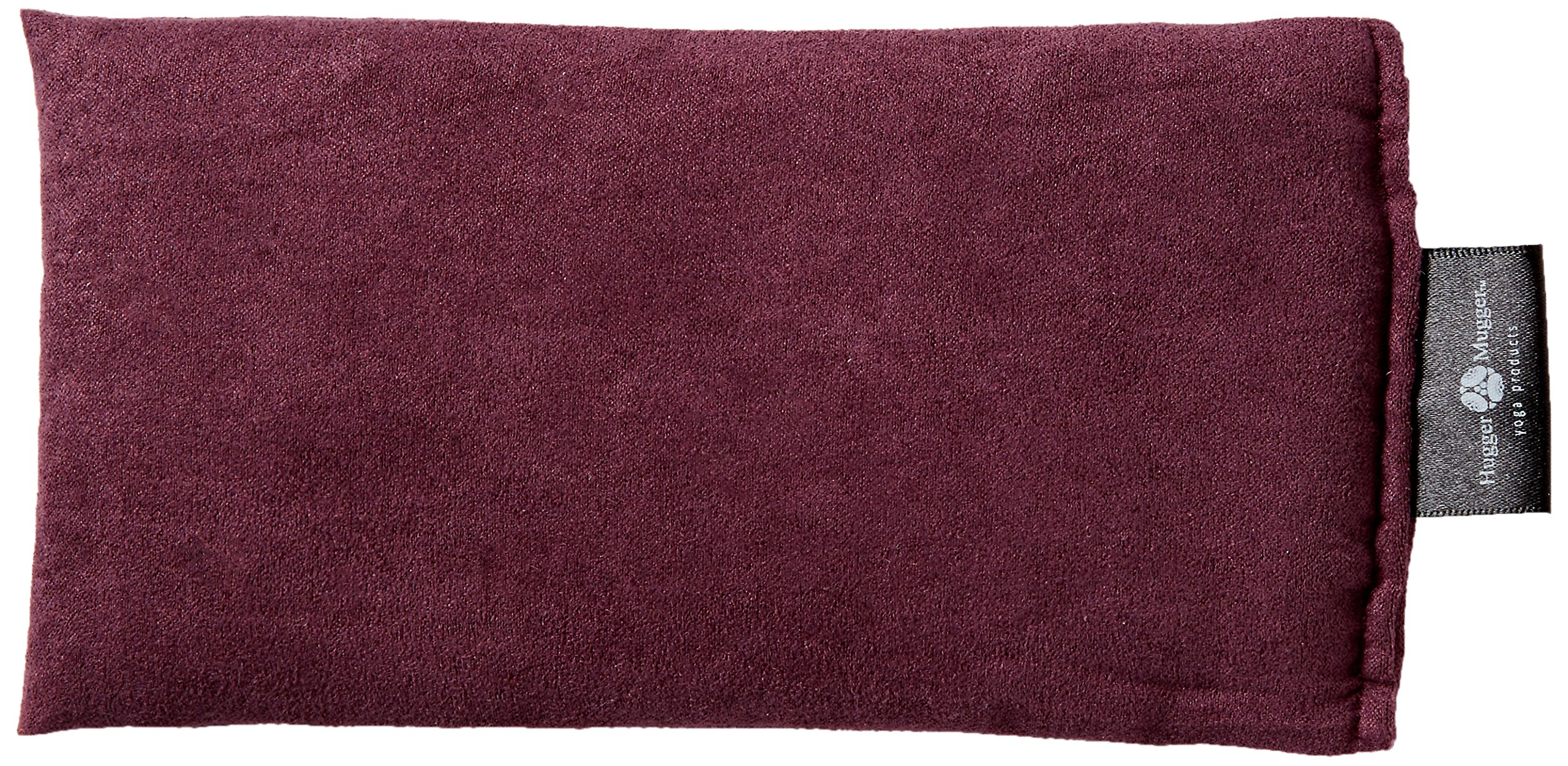 Hugger Mugger Peachskin Yoga Relaxation Eye Bag, Plum