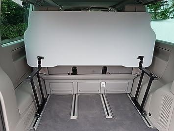 Tablero abatible para Volkswagen Multivan T5/T6, incluye bisagras en forma de L: Amazon.es: Coche y moto