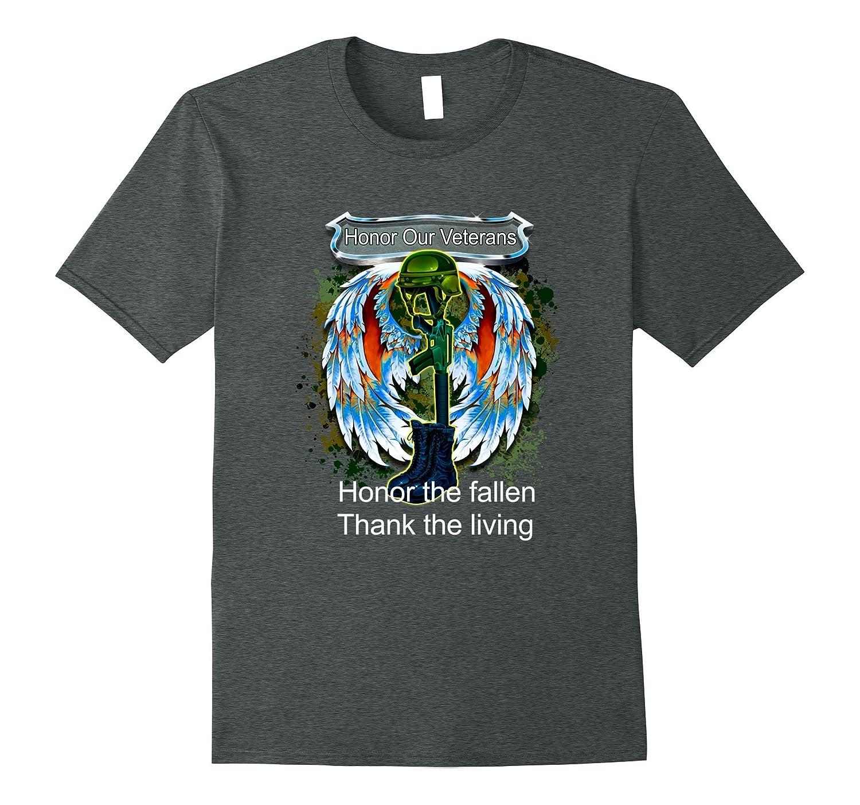 Veterans Tee Shirt Honor Our Veterans Honor the fallen Gift-CD