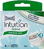 Wilkinson Sword Intuition Naturals Klingen, 6 Stück, 1er Pack (1 x 6 Stück)