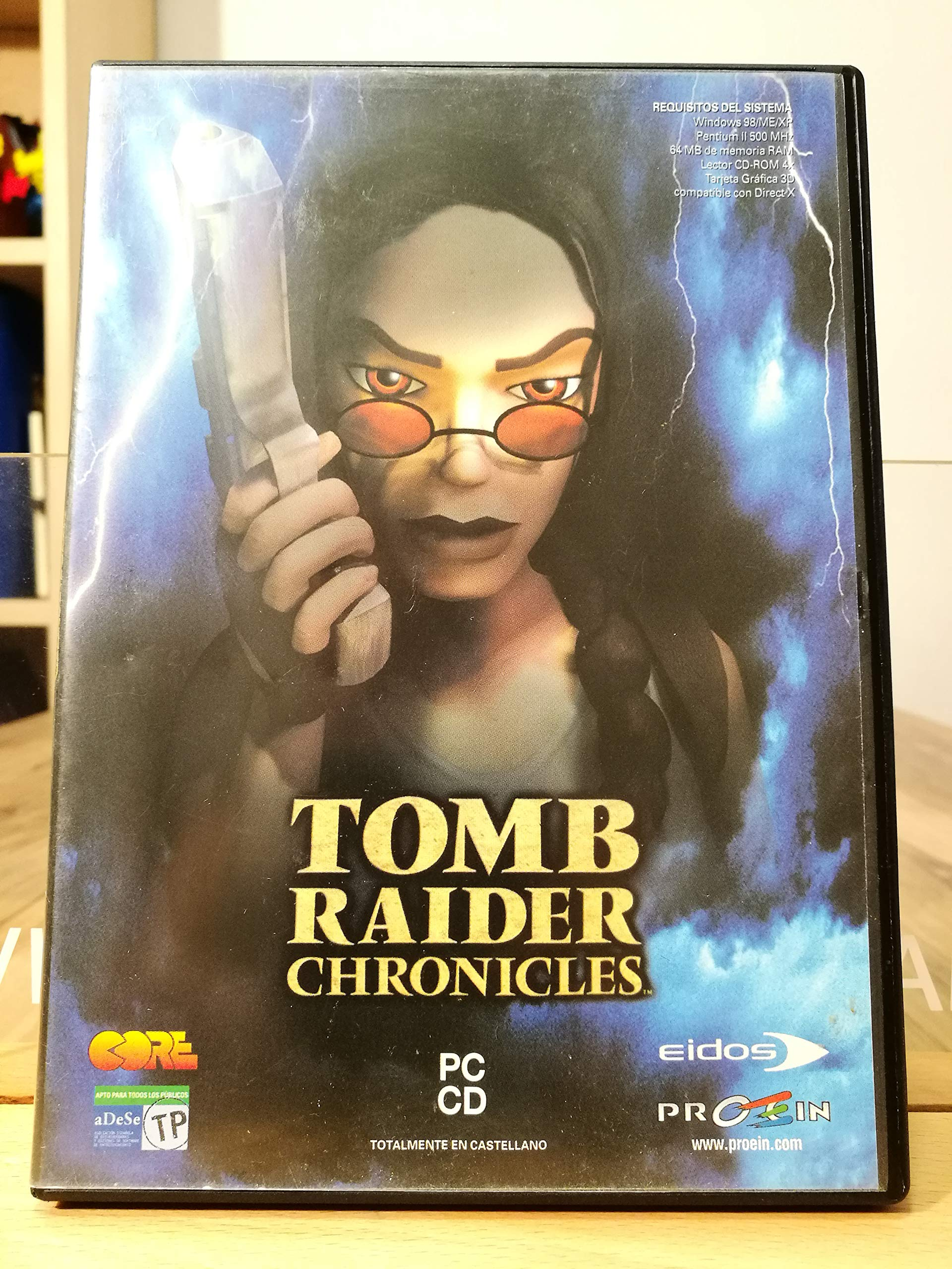 Amazon.com: Tomb Raider Chronicles: Premier Range (DVD ...