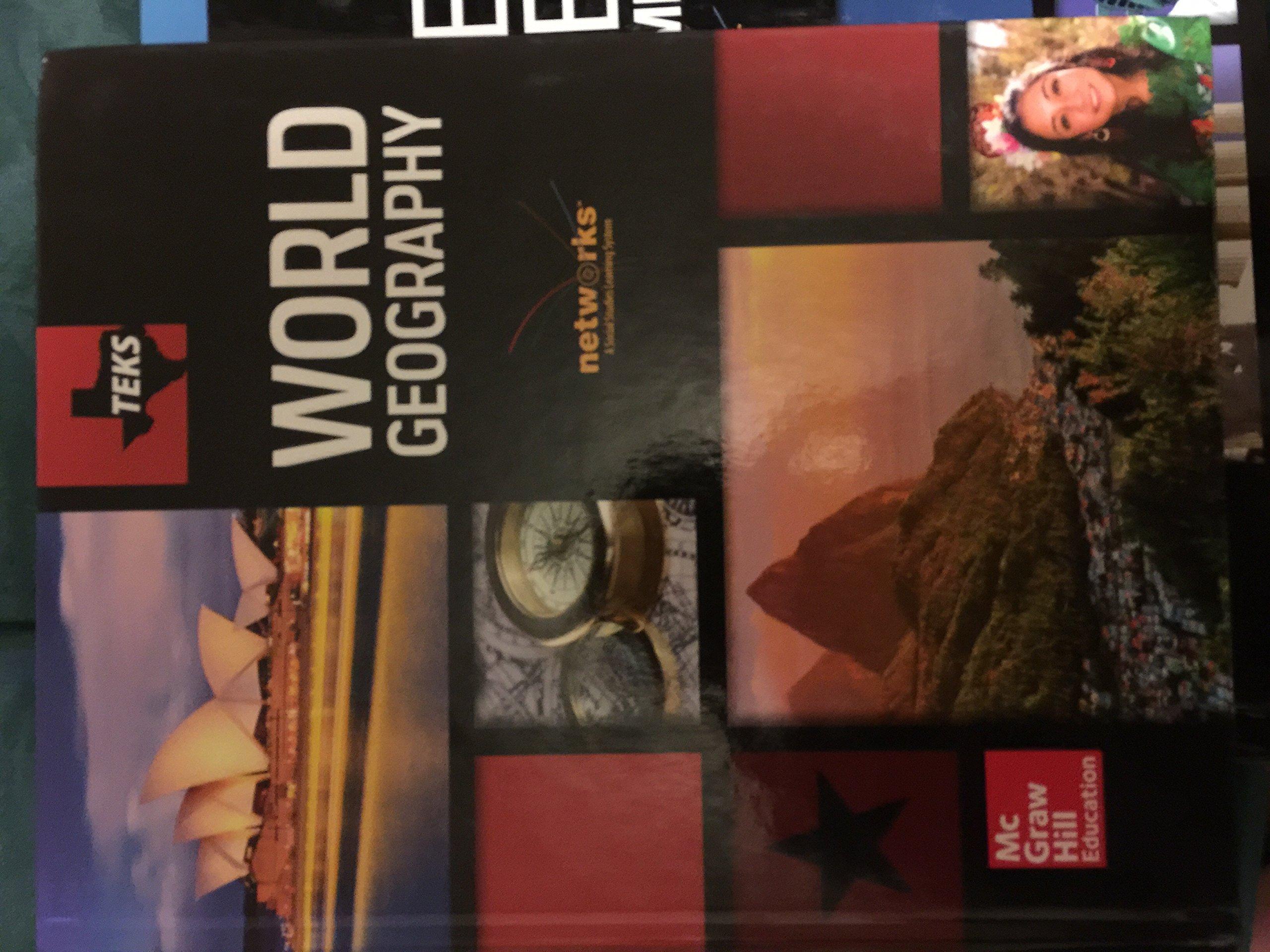 Teks World Geography Student Edition: TEKS: 9780021454570: Amazon