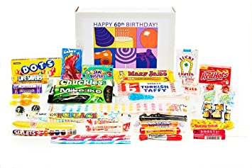 Image Unavailable Not Available For Color Woodstock Candy 60th Birthday Gift Box