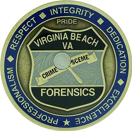 Virginia Beach Police Challenge Coin
