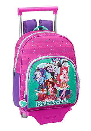 Safta Mochila Infantil Enchantimals Oficial Con Carro Safta 125x95mm: Amazon.es: Equipaje