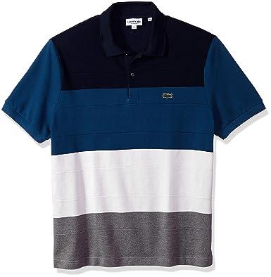 Lacoste Hombre PH9367-51 Manga Corta Camisa Polo - Gris - Small ...